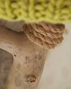 Wooden<br>wall lamp